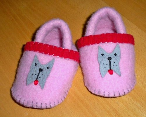 Doggie slippers 1