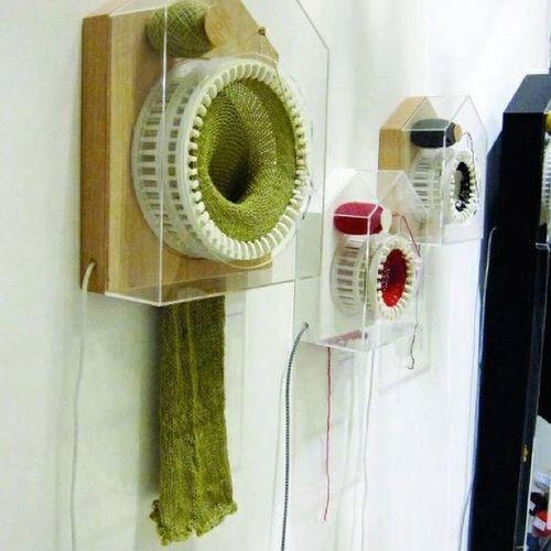 Knittingclockmakesonestitcheveryhalfhour