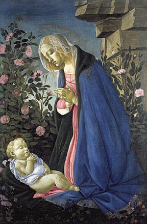 Virginadoringthesleepingchristchild
